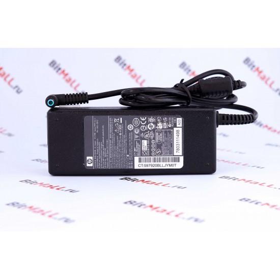 Блок питания (зарядка) ноутбука HP 19.5V 4.62A (90W) 4.5*3.0мм синий с иглой