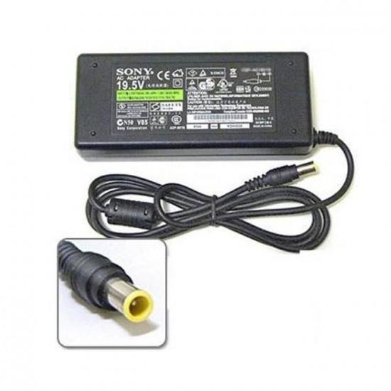 Блок питания (зарядка) ноутбука Sony Vaio (19.5V 4.7A, 6.5*4.4мм)