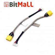Разъём Питания ноутбука 1417-0085000 (Гнездо зарядки с кабелем)
