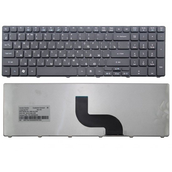 Клавиатура для ноутбука eMachines E732G, E732ZG, E642G, E640G, E440, G730