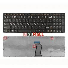 Клавиатура для Lenovo G570 черная