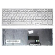 Клавиатура для Sony Vaio VPC-EE белая