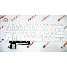 Клавиатура для ноутбука 0KNB0-1103US00 Белая