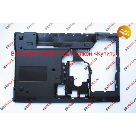 Поддон для ноутбука Lenovo G570 G575 (версия без HDMI, нижняя часть корпуса)