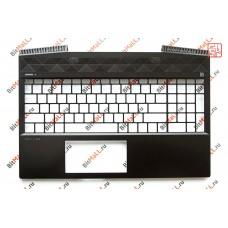 Верхняя часть корпуса (топкейс) для ноутбука AM288000800 (панель тачпада, palmrest)