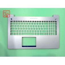 Верхняя часть корпуса (топкейс) для ноутбука 13N0-P9A0201 (панель тачпада, palmrest)